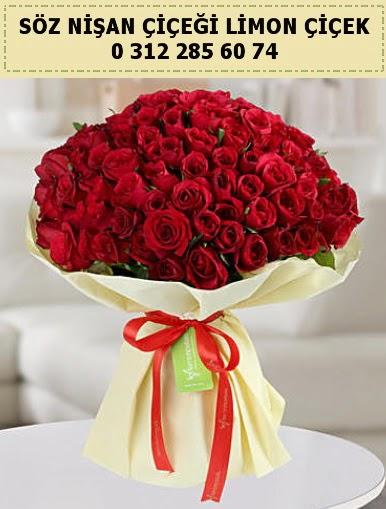 51 adet kırmızı gül söz nişan buketi çiçeği  Türkiye çiçekçi telefonları