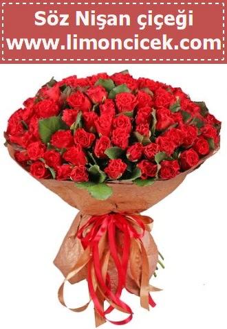 Kız isteme söz nişan çiçeği 101 gül  Türkiye kaliteli taze ve ucuz çiçekler