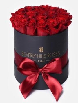 Siyah kutuda 25 adet kırmızı gül tanzimi  Türkiye çiçek mağazası , çiçekçi adresleri