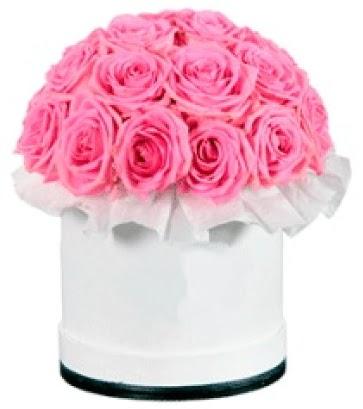 özel kutuda 20 adet pembe gül  Türkiye kaliteli taze ve ucuz çiçekler