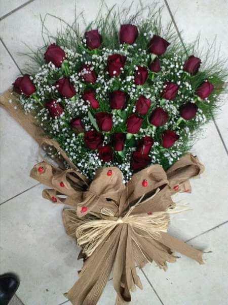 Türkiye online çiçekçi , çiçek siparişi  29 kırmızı gülden kız isteme söz çiçeği
